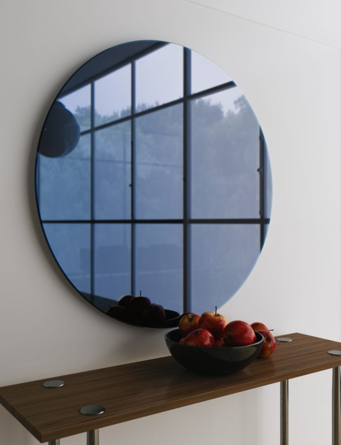 Colorful Mirrors – A MidCentury Modern Collection by Mirror Coop