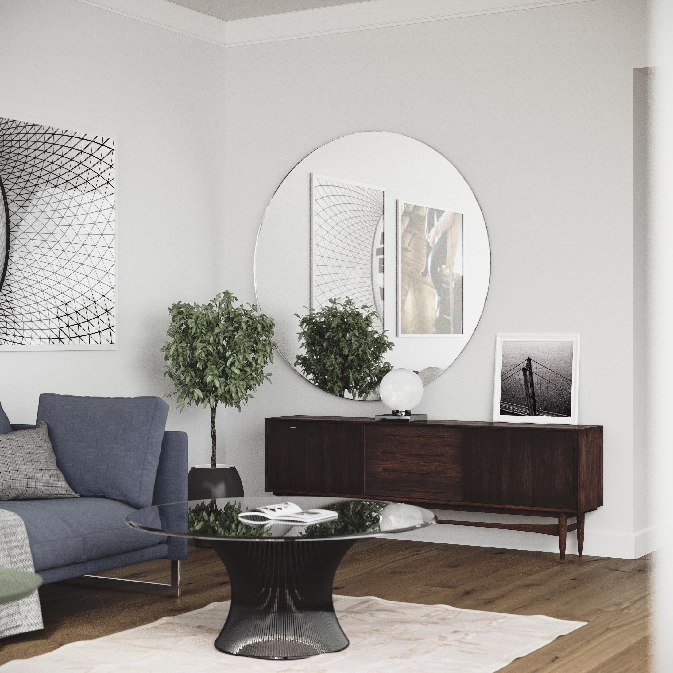 thomas round mirror ballard designs - mirror designs