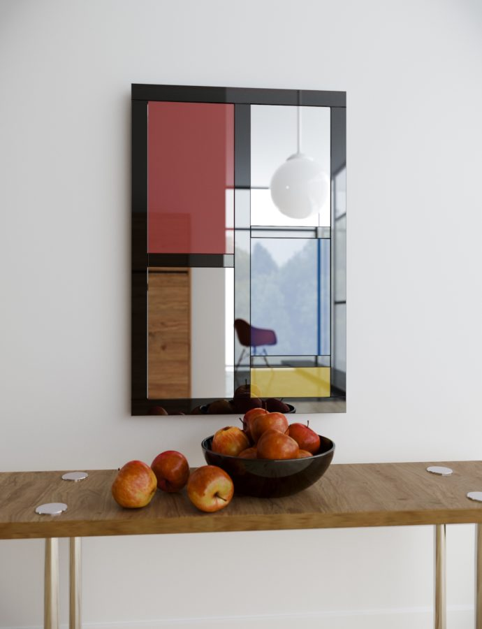 Colorful Wall Mirrors