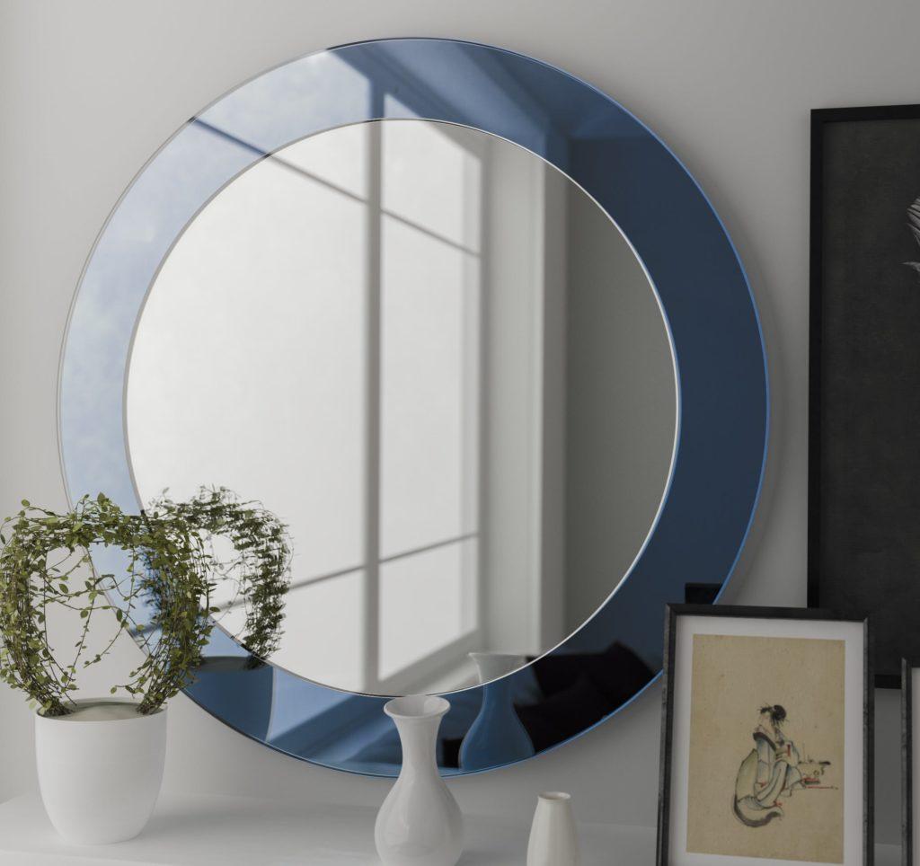 hanging wall mirror